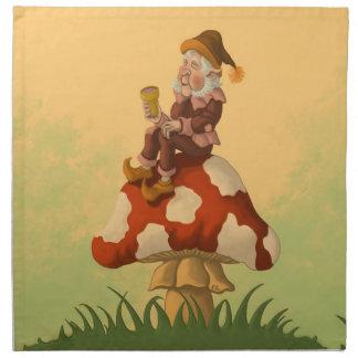 toadstoolの格言のファンタジーのナプキン ナプキンクロス