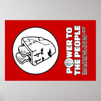 Toasterhead Teslaポスター ポスター