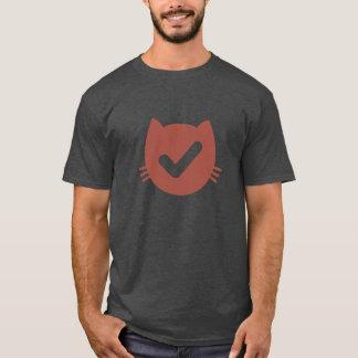 TodoCatの木炭ヒースのTシャツ Tシャツ
