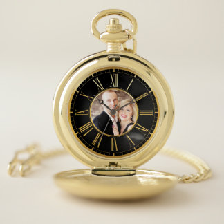 Together forever lovely photo gift pocket watch ポケットウォッチ