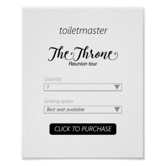 Toiletmasterの浴室のプリント ポスター