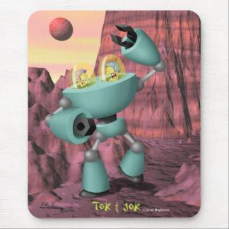 Tok及びJok TokBot対JokBotのマウスパッド マウスパッド