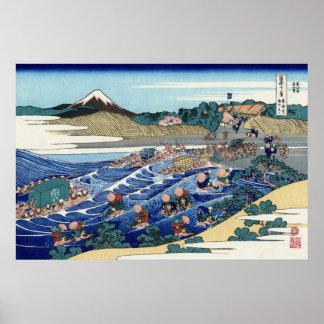 TōkaidōのKanayaからの富士 ポスター