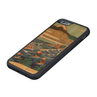 TokaidoのKanayaから見られる富士 CarvedチェリーiPhone 6バンパーケース