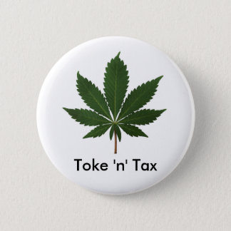 Toke 「n」税 5.7cm 丸型バッジ