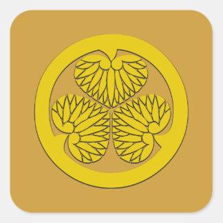 Tokugawaの征夷大将軍の頂上 スクエアシール