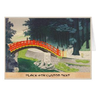 Tokuriki Tomikichiro日光日本の日本人の芸術 カード