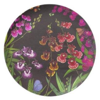 Tolumnia Equitant Oncidiumの蘭のプレート プレート