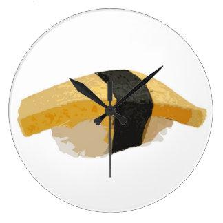Tomago Nigiriの寿司 ラージ壁時計