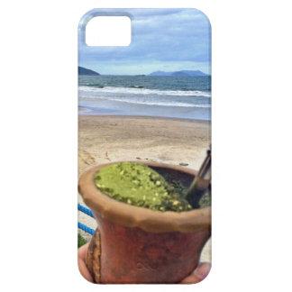 Tomandoのum chimarrão em Garopaba iPhone SE/5/5s ケース