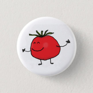 Tomato button 3.2cm 丸型バッジ