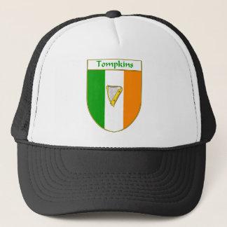 Tompkinsのハープのアイルランドの旗の盾 キャップ