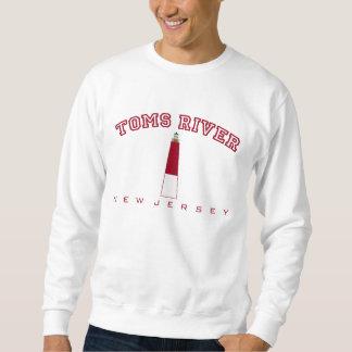 Toms川- Barnegatの灯台 スウェットシャツ