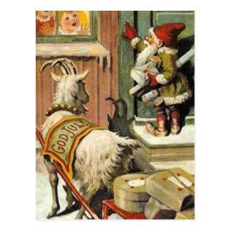 Tomte Nisse、別名サンタクロース ポストカード