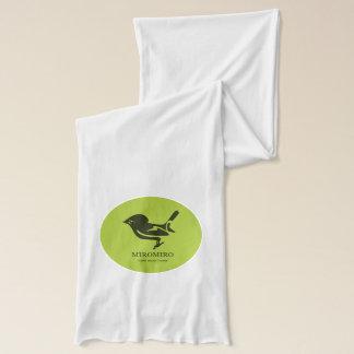 Tomtit MIROMIROニュージーランド/Aotearoaの鳥 スカーフ