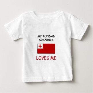 Tonganの私の祖母は私を愛します ベビーTシャツ