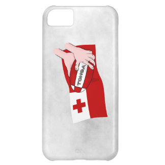 Tongan旗のラグビーのチームサポータ iPhone5Cケース
