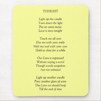 TONIGHT/Love マウスパッド