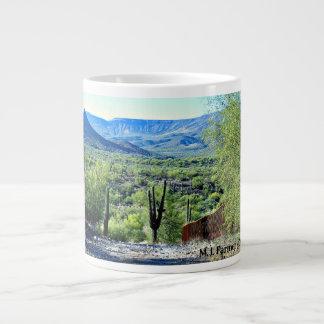 Tonto山のコーヒーカップへの入口 ジャンボコーヒーマグカップ