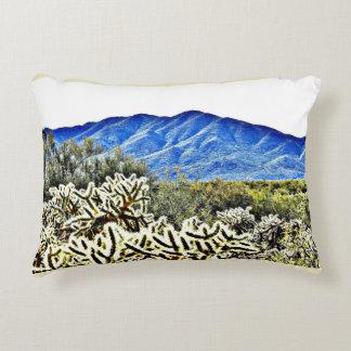 Tonto Mt.のサボテンによってブラシをかけられる多アクセントの枕 アクセントクッション