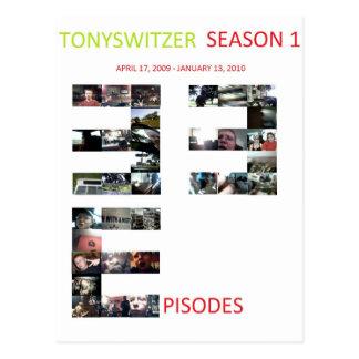 TonySwitzer -季節1ポスター ポストカード