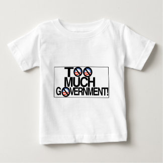 Toomuch government.jpg ベビーTシャツ