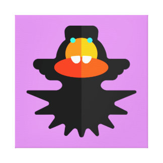 Toothee-Mc Clupkitz公式のポートレートのギャラリー キャンバスプリント