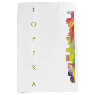 TOPEKAカンザスのスカイラインWB1 - ミディアムペーパーバッグ