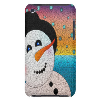 Tophatの雪だるま Case-Mate iPod Touch ケース