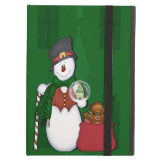 Tophatの雪だるま iPad Airケース