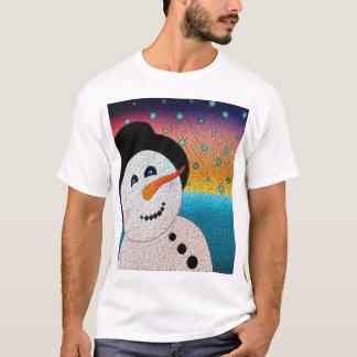 Tophatの雪だるま Tシャツ