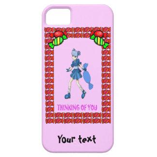 Topsyのタフィーおよび巨大なタフィー iPhone SE/5/5s ケース