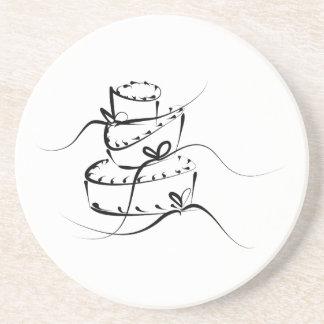 Topsy|Turvy|結婚|ケーキ ビバレッジコースター