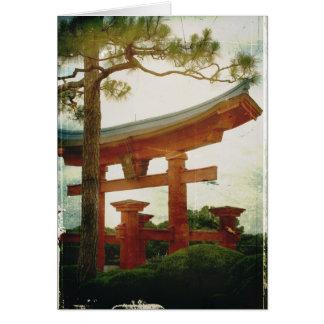 Toriiのゲート カード