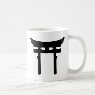 toriiのゲート コーヒーマグカップ