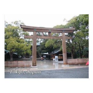 Toriiのゲート ポストカード