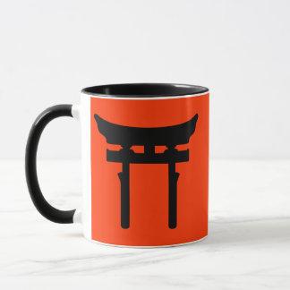 toriiのゲート(赤い) マグカップ