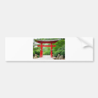 Toriiの赤いゲート バンパーステッカー