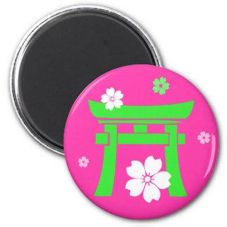 Torii (緑及びピンク) マグネット