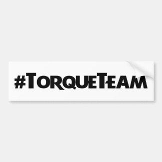 #TorqueTeamのステッカー バンパーステッカー