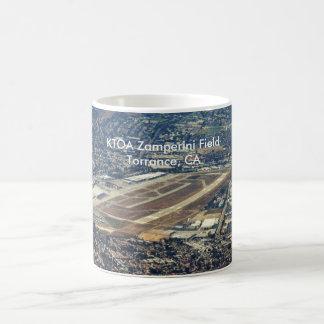 Torrance Zamparini空港、KTOA Zamperini分野… コーヒーマグカップ