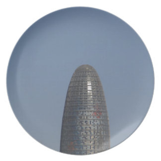 Torre Agbar、バルセロナ プレート