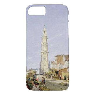 Torre dos Clerigos、オポルト、ポルトガル1837年(油 iPhone 8/7ケース