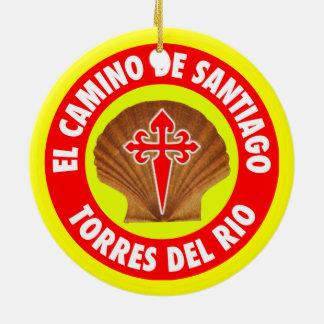 Torres Delリオ セラミックオーナメント