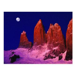 Torres Del Paineのパタゴニア ポストカード