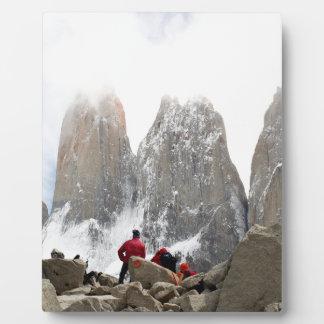 Torres del Paineの国立公園、チリ フォトプラーク