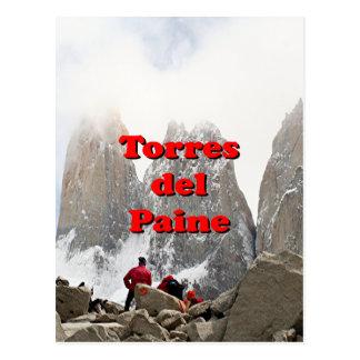 Torres del Paine: チリ ポストカード