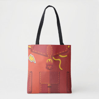 Tote Bagpack Lets Travel トートバッグ