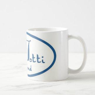 Tottiの熱いマグ コーヒーマグカップ