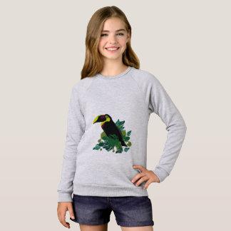 Toucanのイラストレーション スウェットシャツ